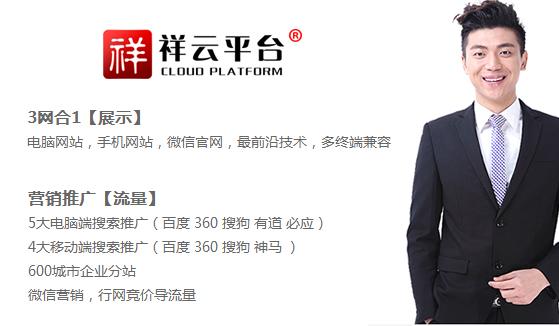 祥云平台营销型网站建设专家